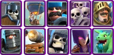 cartas epicas clash royale