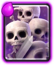 ejercito de esqueletos