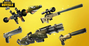 Todas las armas de Fortnite