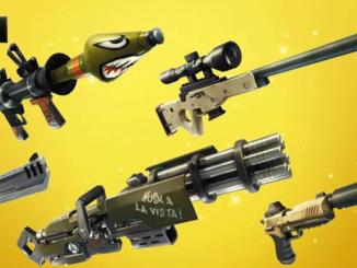 Todas las armas de Fortnite