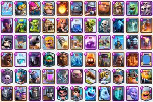 Todas las cartas de Clash Royale