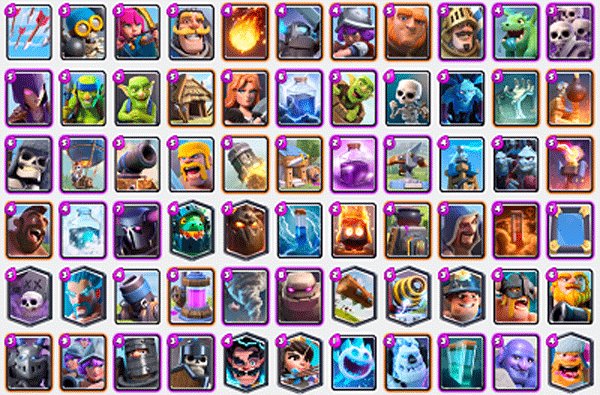 Todas Las Cartas De Clash Royale Topjugando