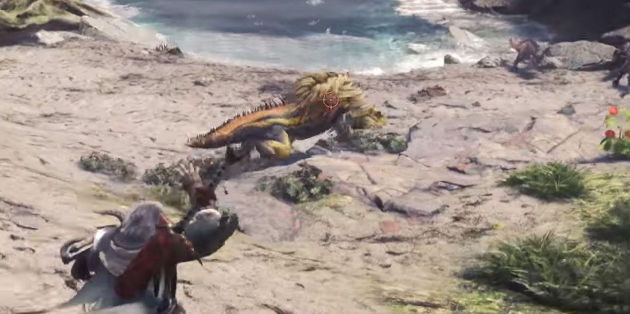 monster hunter cazando