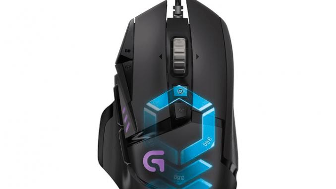 raton gaming g502