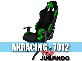 AKRACING 7012 REVIEW DE LA SILLA GAMING VERDE