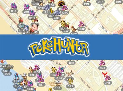 Pokemon radar pagina web