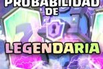 Probabilidad de legendaria Clash Royale