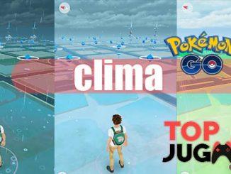 El clima en Pokémon GO 1