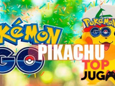 Conseguir a Pikachu en Pokémon Go