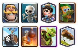 Double Log Bait deck with Bomb Tower