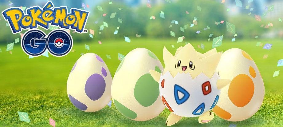 eclosionando huevos en pokémon go