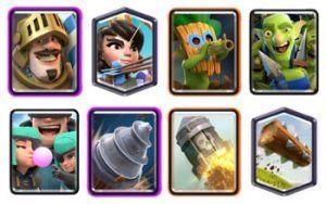 Goblin Drill Prince Log Bait deck