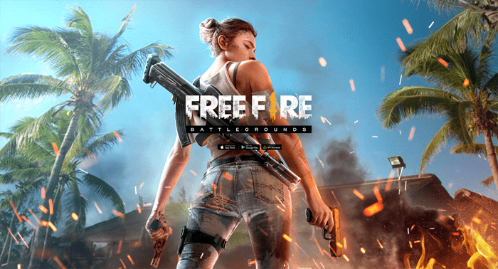 Juego free fire battle royale