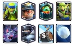 Mega Knight Miner bait deck