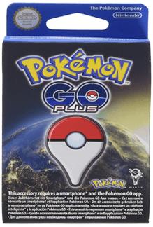 Pokemon go plus pulsera para más acción