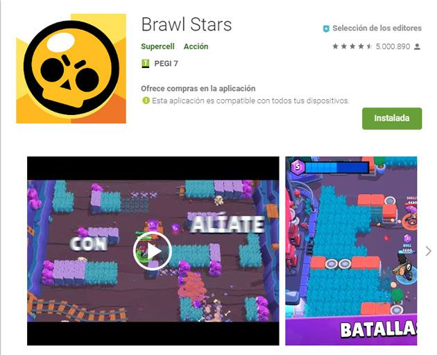 Requisitos brawl stars pc