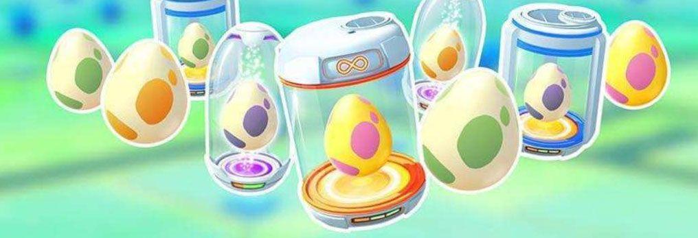 toda la informacion de los huevos en pokemon go