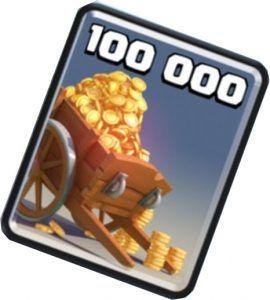 Consigue oro en Clash Royale