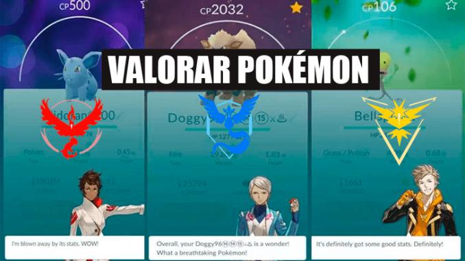 Valoraciones Y Frases De Los Entrenadores En Pokémon Go