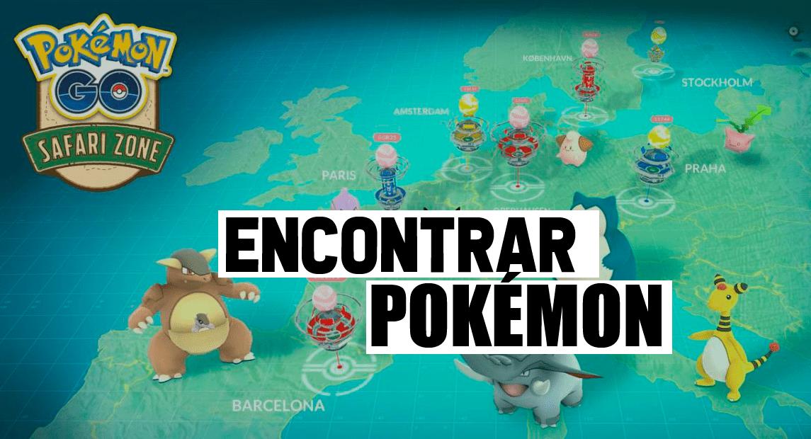 Donde encontrar Pokémon