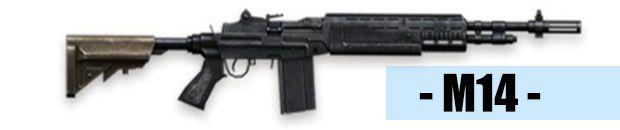 M14 arma free fire