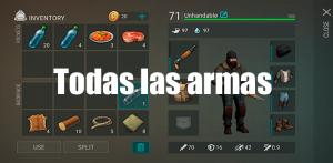 Armas de Last Day on Earth
