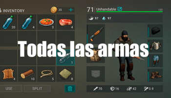 Todas las Armas de Last Day on Earth