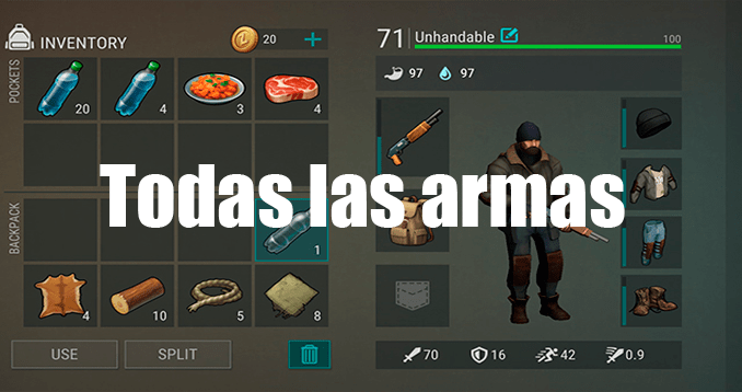 Armas de Last Day on Earth