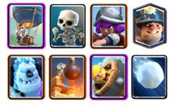 Balloon Miner Cycle deck