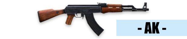 Fusil de asalto AK Free Fire