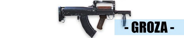 Groza arma de free fire