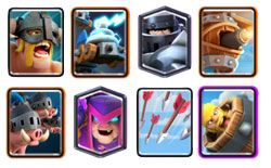 Mega Knight Mother Witch deck