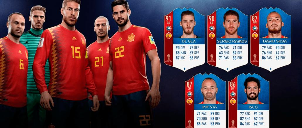 Mejores jugadores españoles Fifa 19