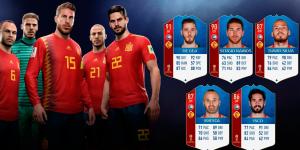 Los mejores jugadores de España en Fifa 19
