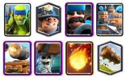 Miner Cannon Card deck