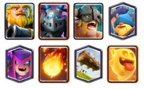 Royal Giant Elite Barbarians deck