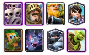 Royal Giant Mega Knight deck