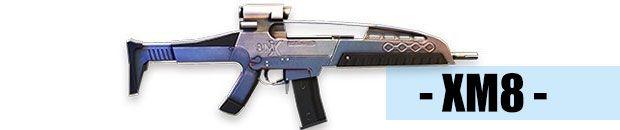 arma de Free Fire xm8 fusil de asalto