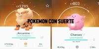 Los Pokémon con suerte ¿Qué son? Pokémon Go