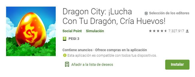 dragon city requisitos en pc