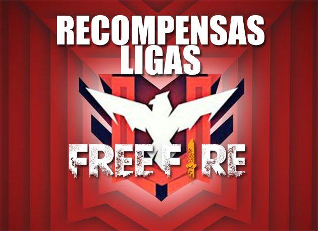 Recompensas de ligas en free fire
