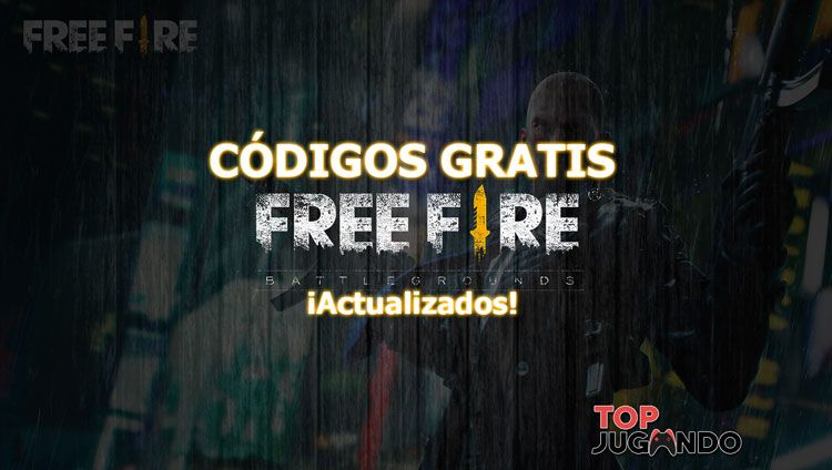Consigue códigos gratis de Free fire Actualizados al dia