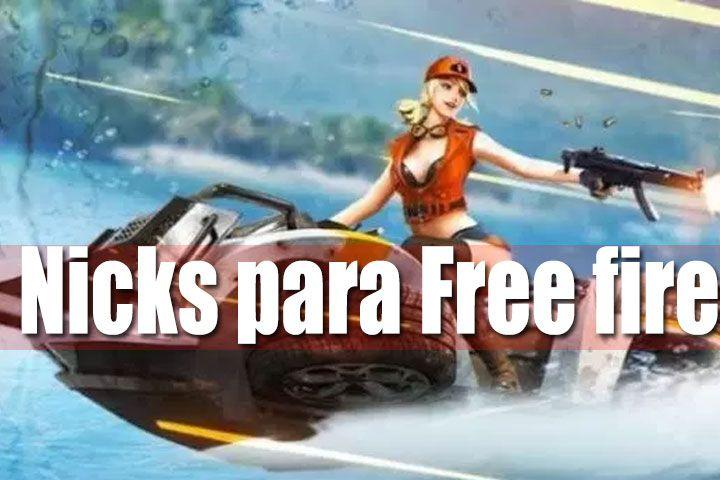 Crea Nicks Y Nombres Divertidos Para Free Fire Fręęfîrę