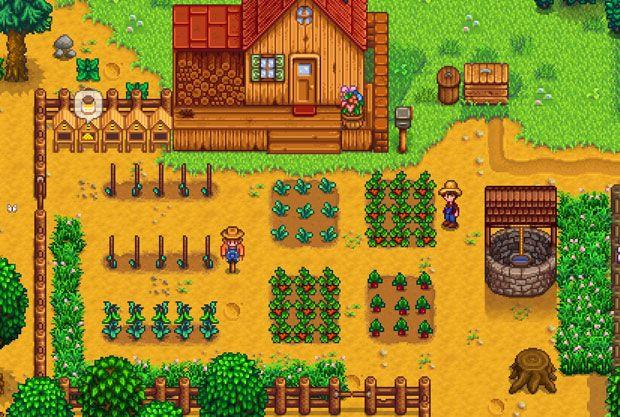 Stardew valley Plantación