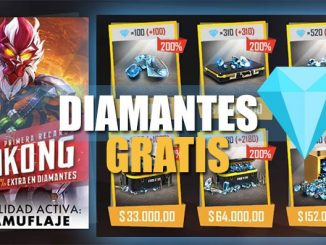Diamantes gratis free fire