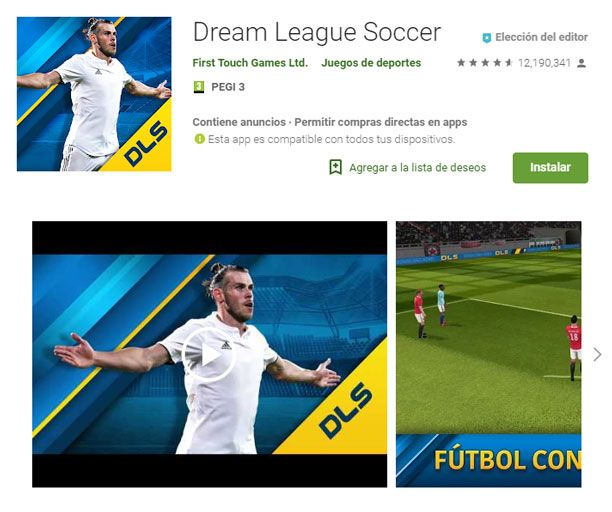 Dream league soccer requisitos recomendados