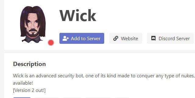 Bot de john wick para discord