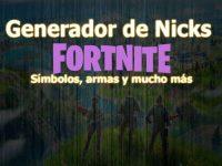 Nombres y Nicks para Fortnite