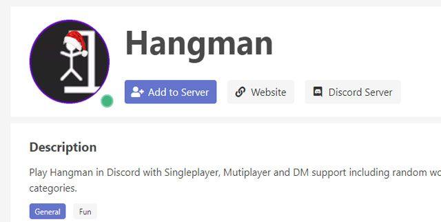 hangman bot de discord