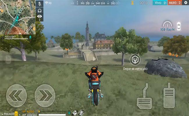 moto garena free fire